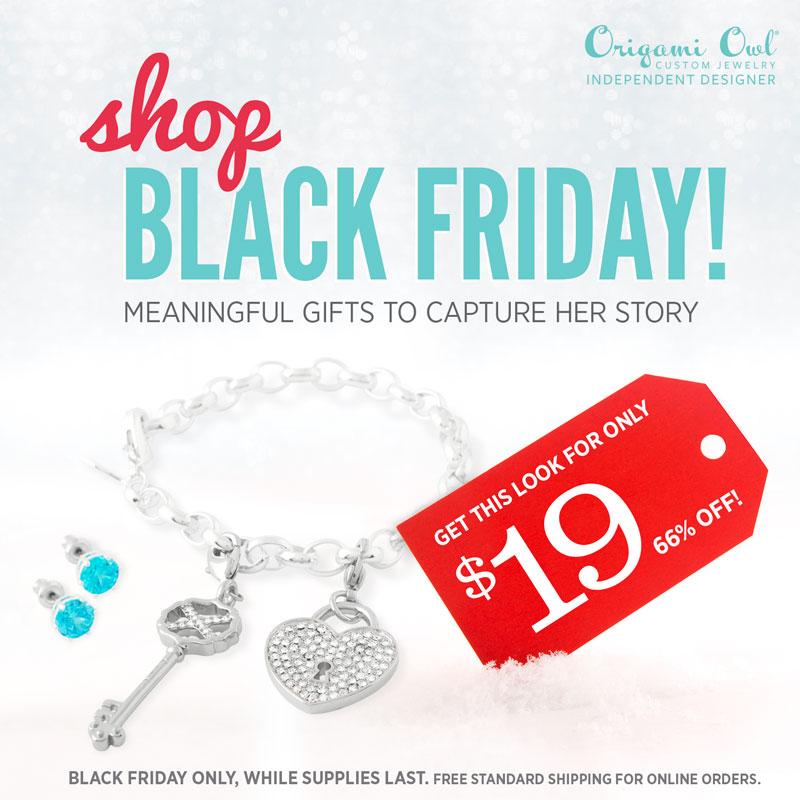 Origami Owl Black Friday: Bracelet Look for $19 | Shop StoriedCharms.com