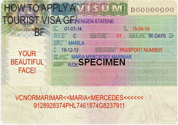 Philippine passport aapplying for a tourist visa to visit bffiance how to apply for a tourist visa in denmark how to invite gf in philippines stopboris