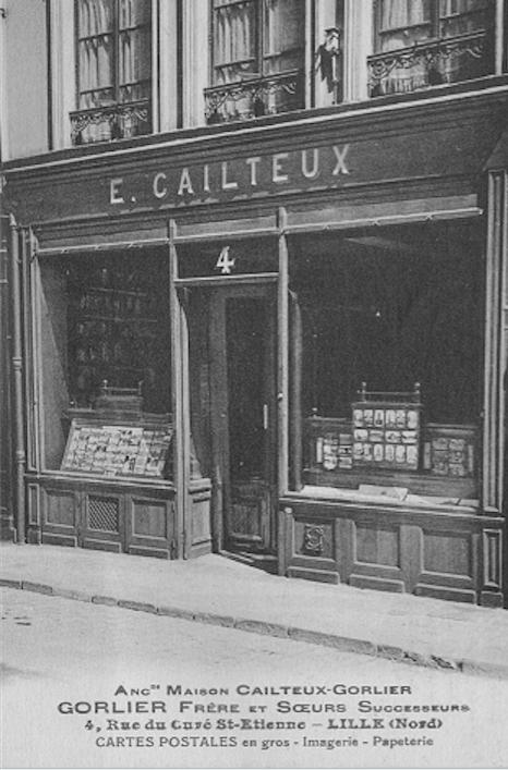 Edmond Cailteux et sa veuve Gorlier