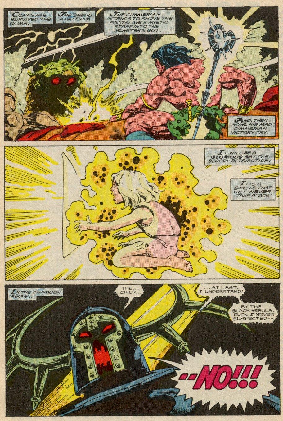 Conan the Barbarian (1970) Issue #194 #206 - English 18