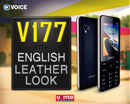 Voice V177 English Leather Mobile Price In Pakistan