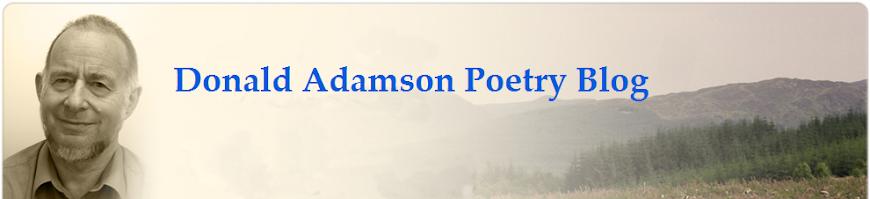 Donald Adamson Poetry Blog