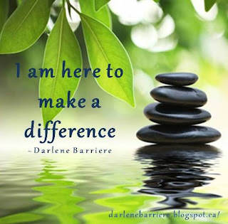 We Are All Here to Make a Difference