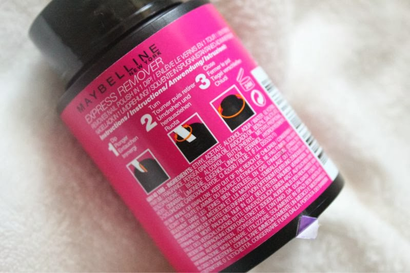 Maybelline Express Nail Polish Remover Pot Review The Sunday Girl