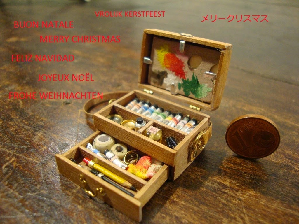 Mini paint set giveaway
