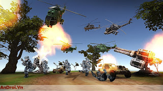 tải Game Android Chiến Thuật-Game World at War : Epic Defence 3D