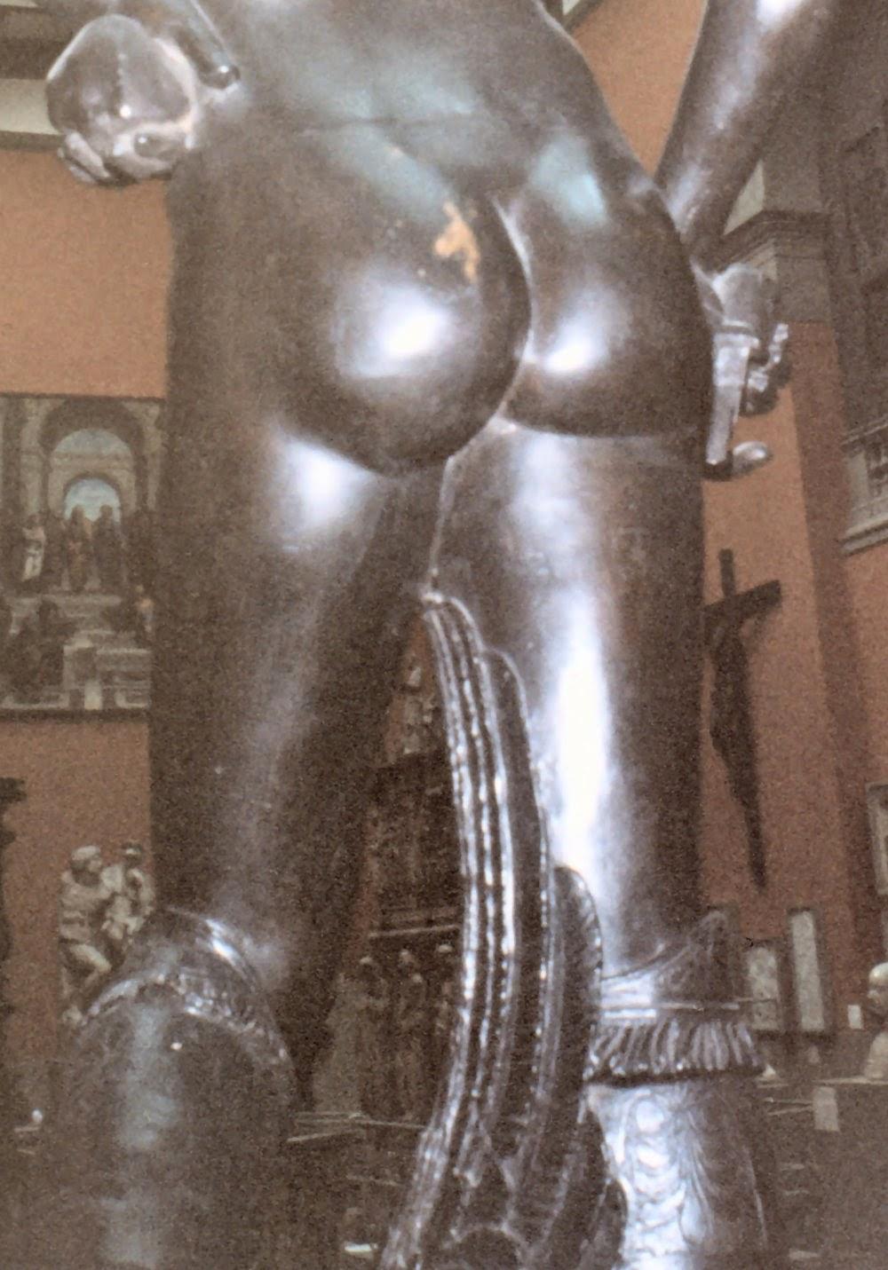 David And Goliath Bronze Statue