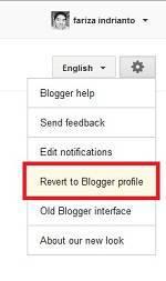 Pengunjung blog, merubah profile bloger, merubah dari google plus ke blogger, mengembalikan ke bloger profile