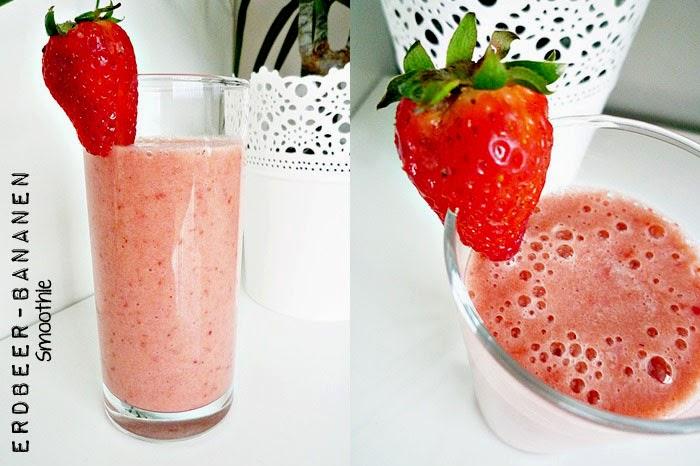 Erdbeer-Bananen Smoothie