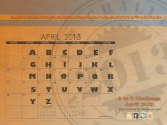 It's the April A to Z Blogging Challenge