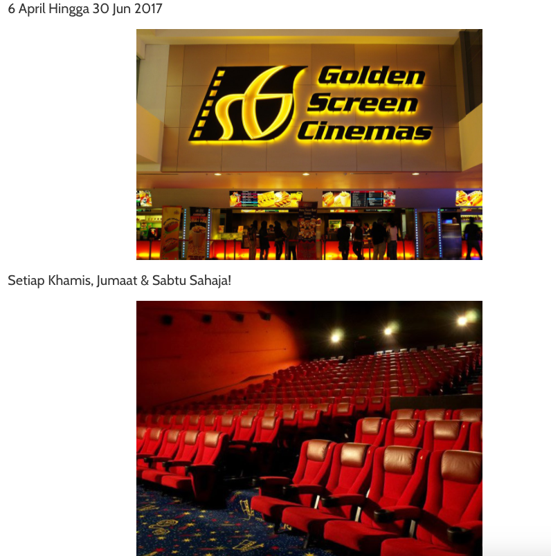 golden screen cinema mobile commerce Golden screen cinemas, petaling jaya, malaysia 6,687 likes 183 talking about this 6,626 were here gsc is the leading film exhibitor and distributor.