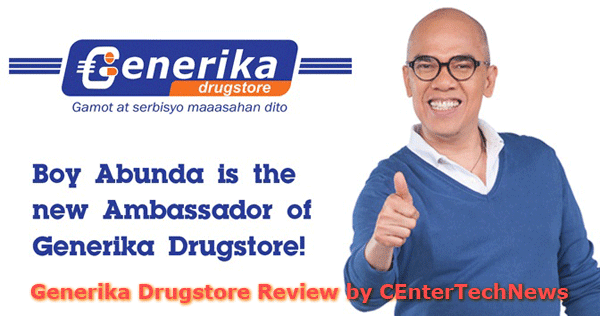 he endorser of the Generika Drugstore is the famous TV Host Boy Abunda