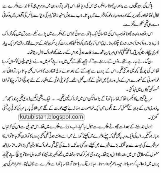 first Page/sample page of Aalam-e-Arwah Ki Mall Road Par