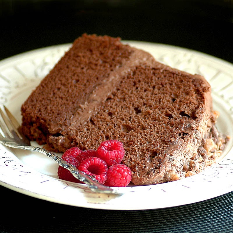 Savoring Time in the Kitchen: Chocolate Chiffon Toffee Cake