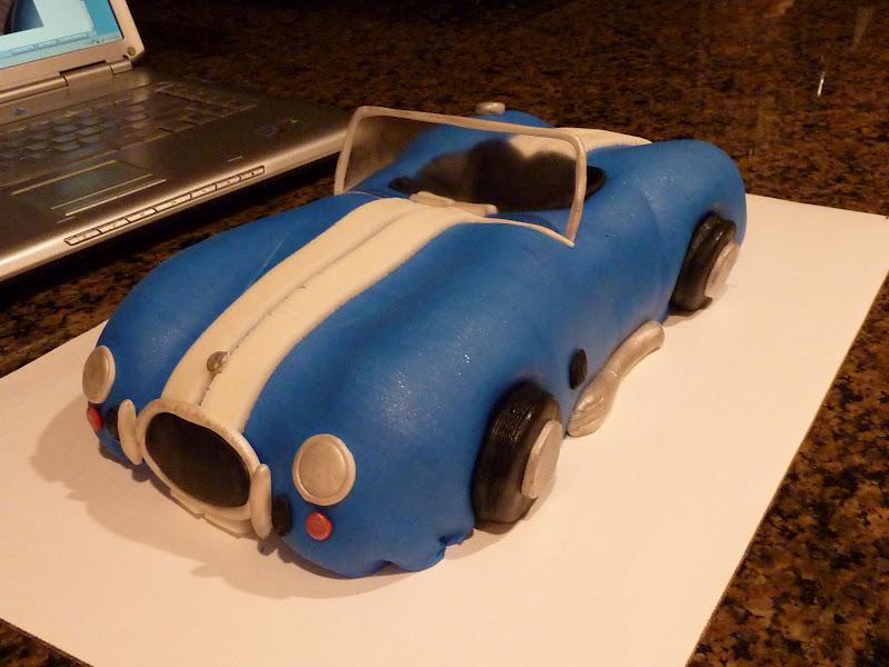 Sarah Bakes 1966 Shelby Cobra Cake
