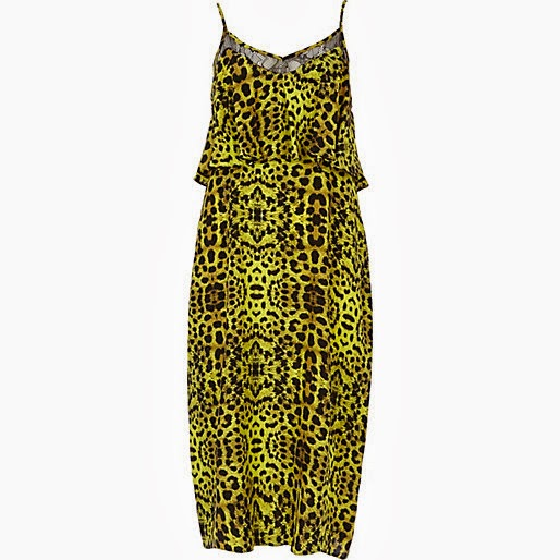 river island leopard print dress
