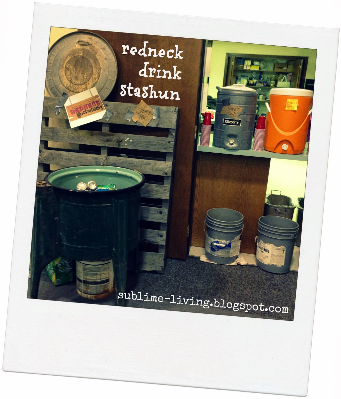 Redneck Christmas Party Ideas Part - 36: Sublime Living: Family Redneck Hootenanny Party Planning: A Night Of Games,  Food U0026 Fun