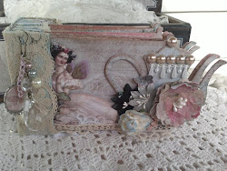 Shabby Tea Pot Mini Album