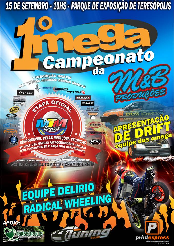 1º Mega Campeonato de Som de Teresópolis