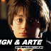 Pôsters animados de 'Harry Potter' em versão minimalista