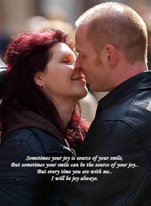 couple breathing and loving quote