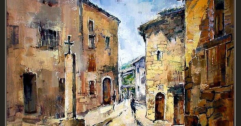 Ernest descals la historia del pintor casserres hostalets - Trabajo de pintor en barcelona ...