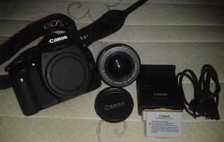 canon 550d kit bekas