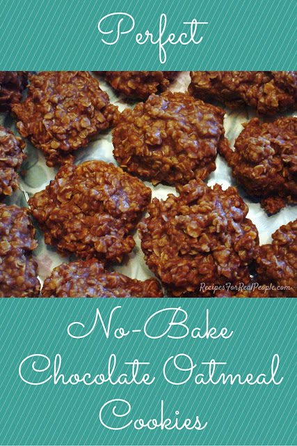 Learn the Secret to Perfect No-Bake Chocolate Oatmeal Cookies