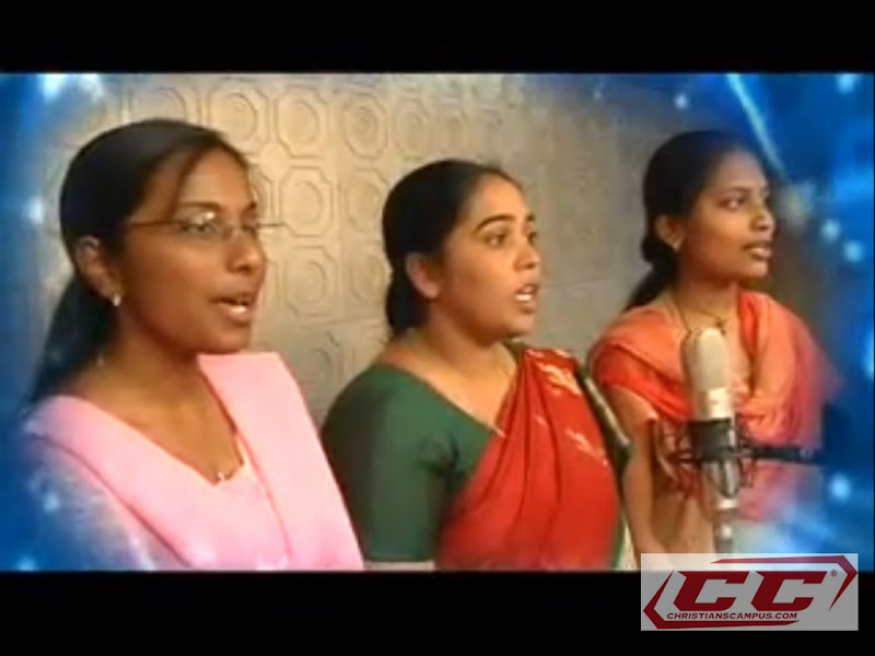 Bro A R Stevenson Choir members singing in studio telugu christian songs albums melodies