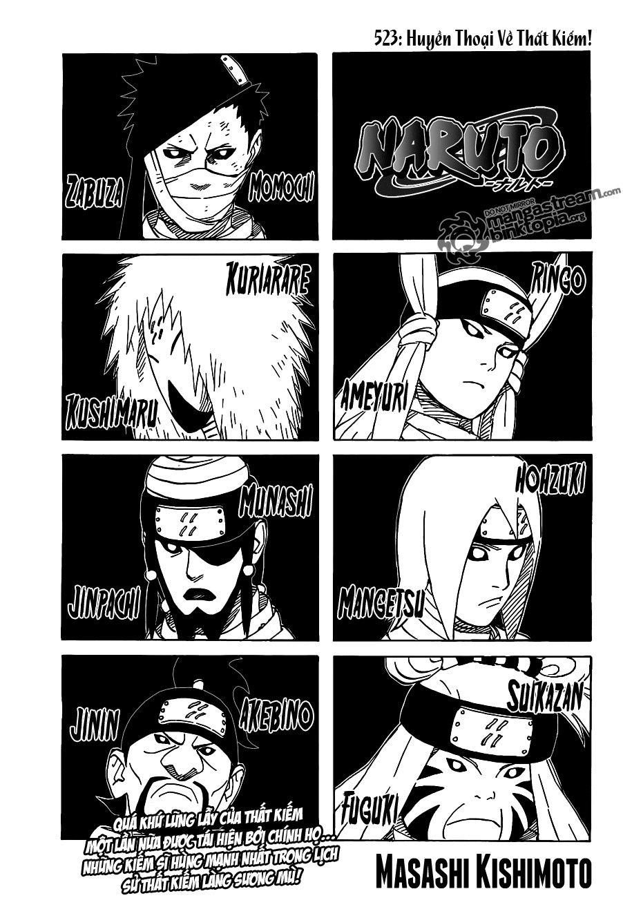 Naruto chap 523 Trang 1 - Mangak.info