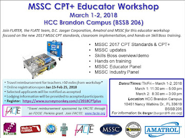 MSSC CPT and CPT+ Workshop