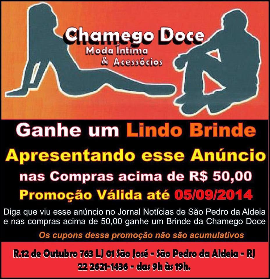 PROMOÇÃO CHAMEGO DOCE