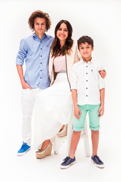 Con los chicos en la Revista Cocoa