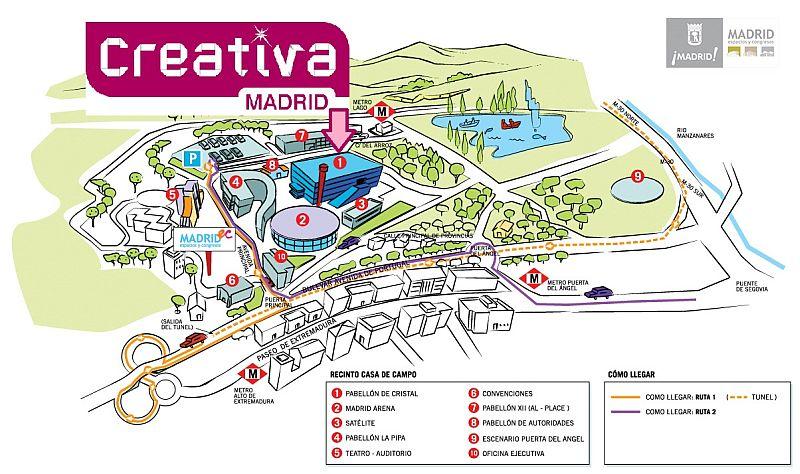 El club de los martes creativa ya tiene fechas en madrid - Pabellon casa de campo madrid ...
