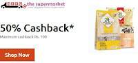 (Last Day) Needsthesupermarket : Get 50% cashback. Maximum cashback Rs 100