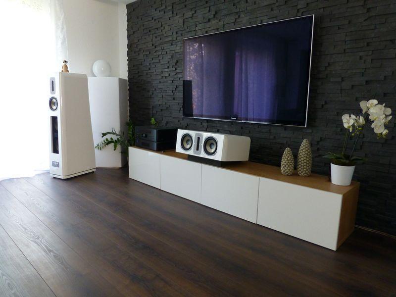 reihenhaus von werner wohnbau in bickenbach ideen  hifi  ~ Fernseher In Wand Integrieren