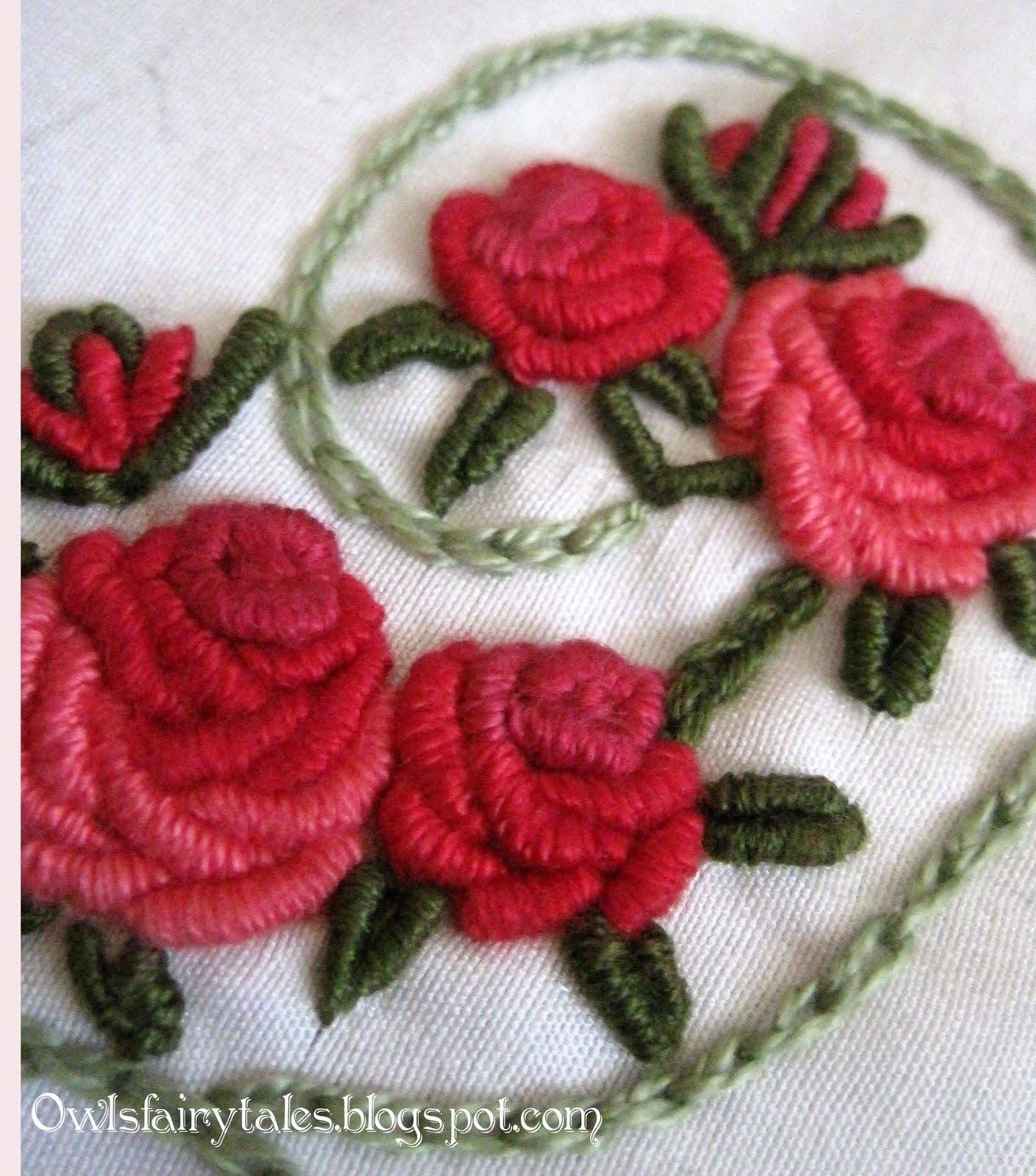 Вышивка по вязанию фото