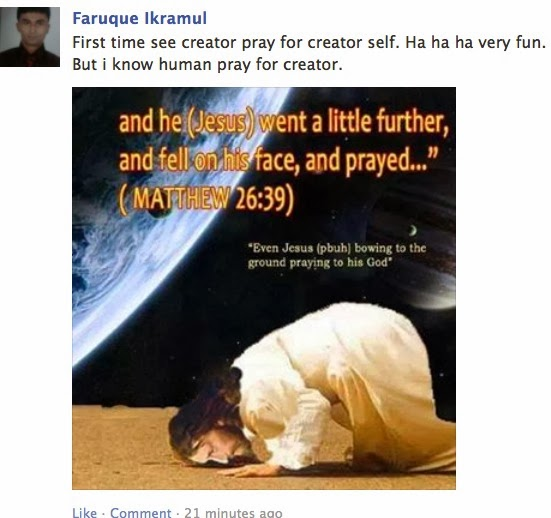 Answering Muslims: A Muslim Admits That Allah Prays