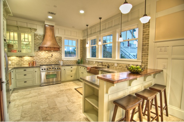 Sweet inspired home copper and mint kitchen inspiration - Kitchen with copper accents ...