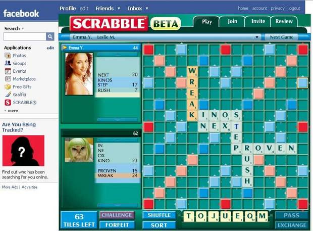 scrabble online games