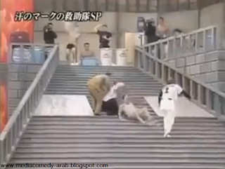 مسخرة اليابان لعبة يابانية تليفزيون مصورة ضحك كتيير