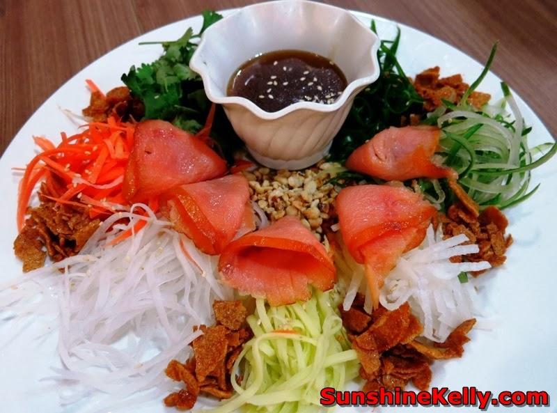 Pork sperity CNY, Porkalicious Joy Luck Set, chicago rib house, 1 Utama food, yee sang