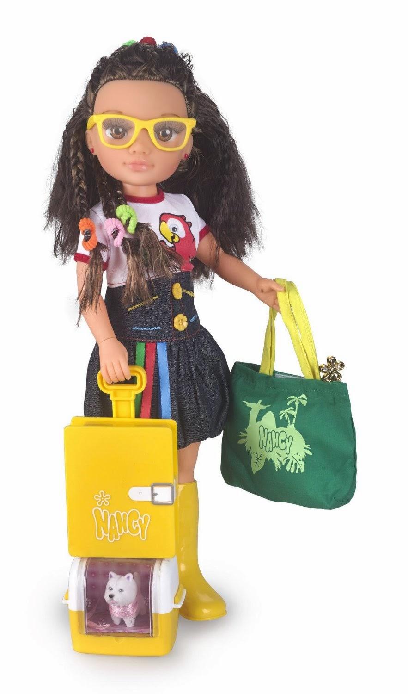 JUGUETES - NANCY  Aventuras por el mundo : Brasil | Muñeca  Producto Oficial | Famosa 700011761 | A partir de 4 años