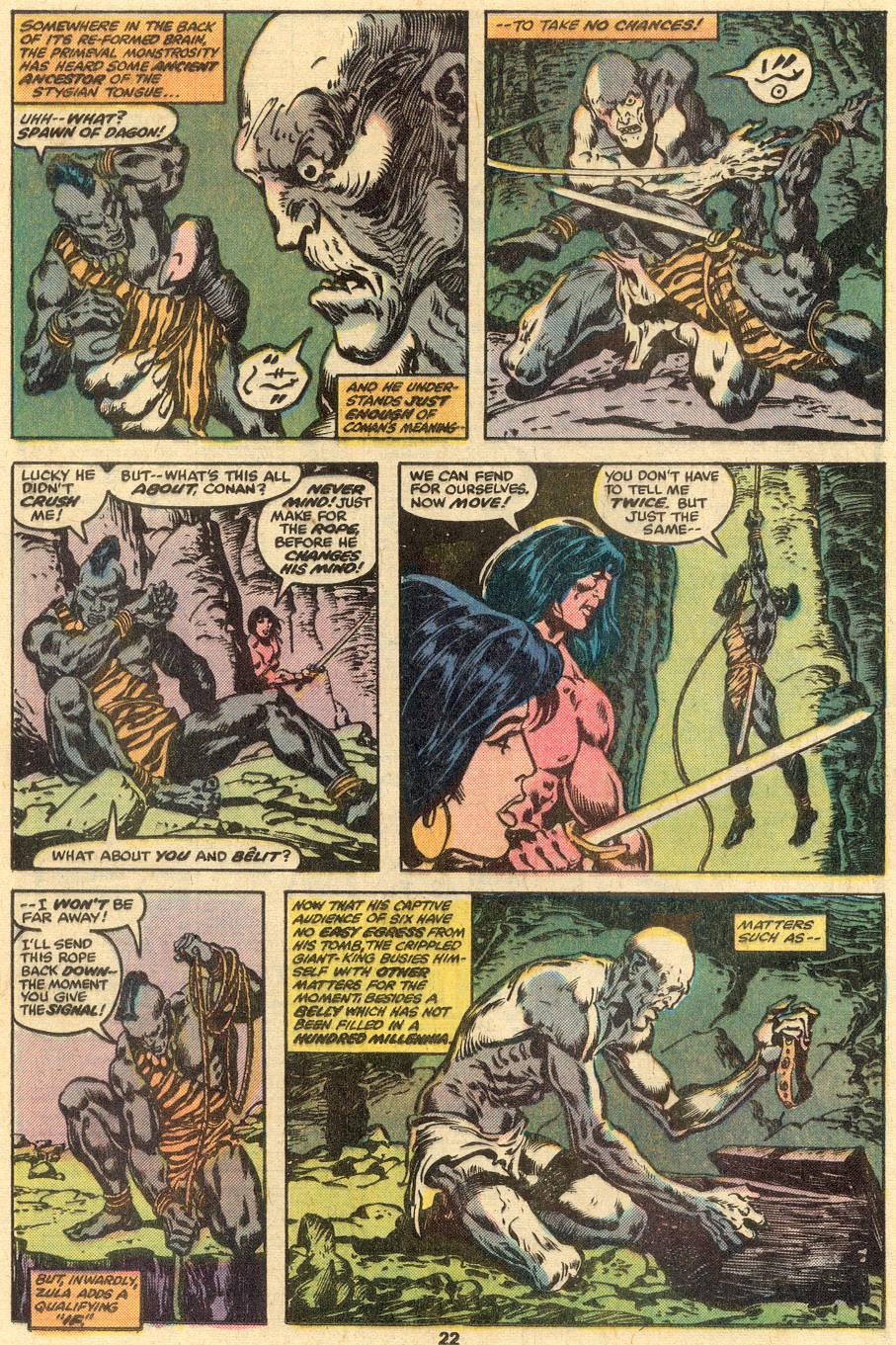 Conan the Barbarian (1970) Issue #90 #102 - English 14