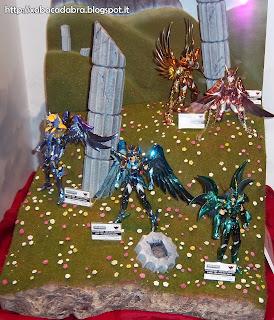 Lucca Comics & Games 2013 Cavalieri dello Zodiaco