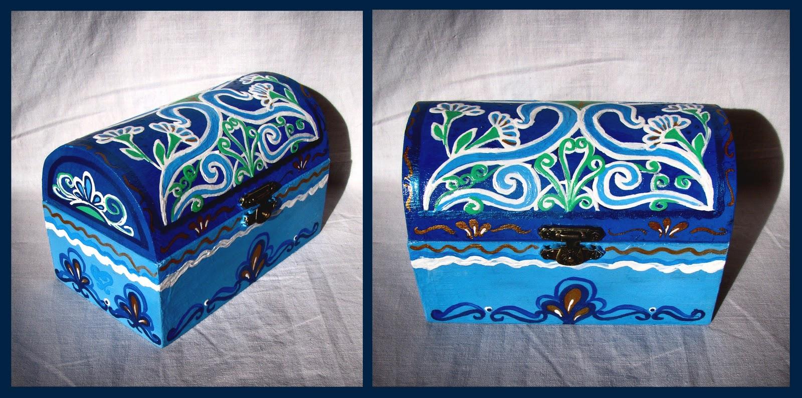 Mano Creativa ( Izabella & Vanda): Scatole di legno dipinte a mano ...