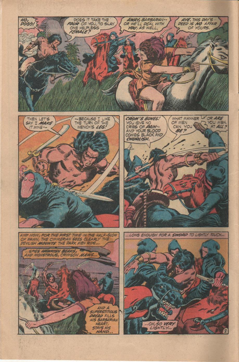 Conan the Barbarian (1970) Issue #14 #26 - English 3
