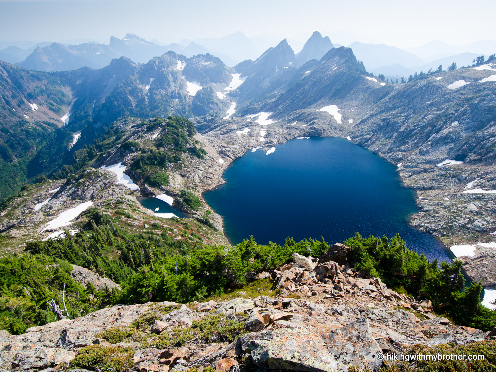 Gothic Basin via Weden Creek Trail #724 Hiking with my Brother