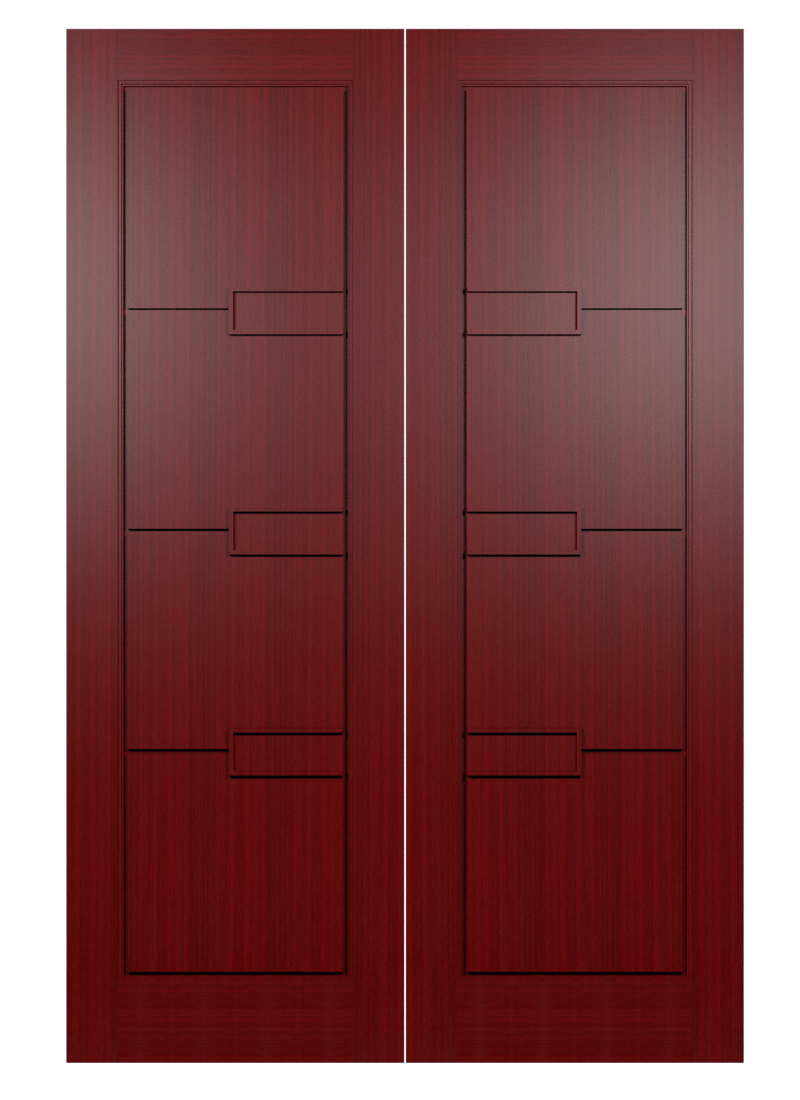 Desain Pintu Minimalis 2 Daun