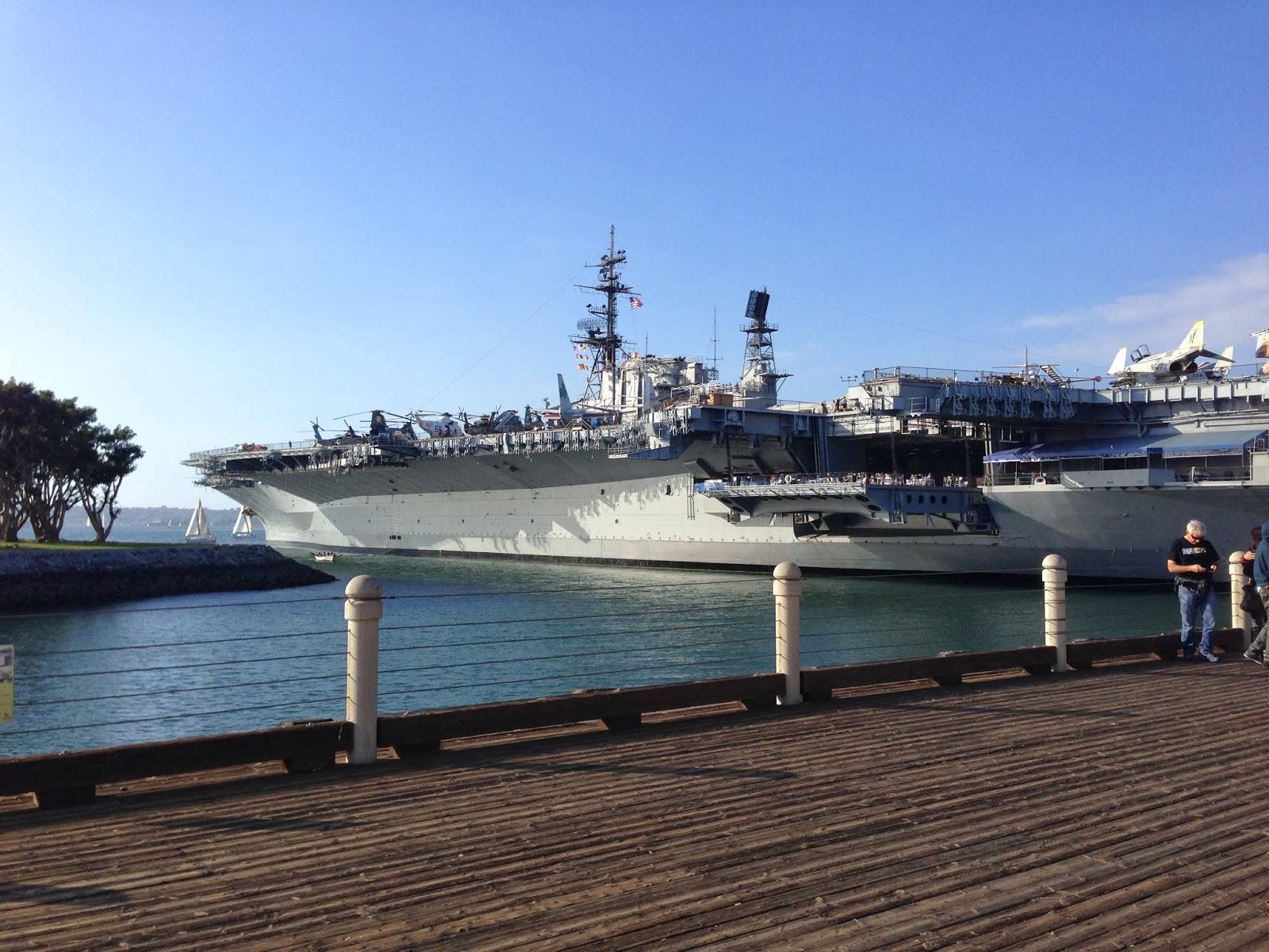 Flugzeugträger, alte Segelschiffe und mehr - auf nach San Diego ...
